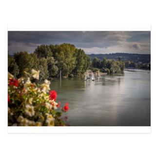 The Seine to rivet, bets, France Postcard