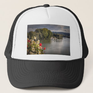 The Seine to rivet, bets, France Trucker Hat