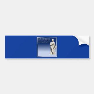 The Selkirk Grace Bumper Sticker