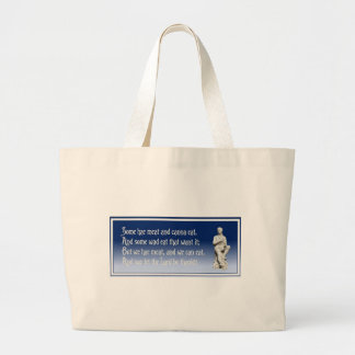 The Selkirk Grace Large Tote Bag