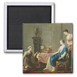 The Seller of Loves, 1763 Magnet