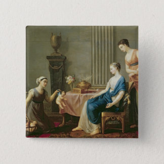 The Seller of Loves, 1763 Pinback Button