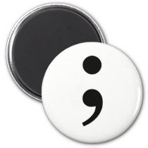 The Semicolon Magnet
