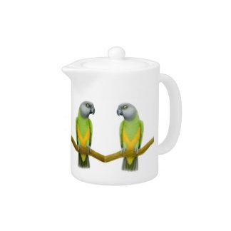 The Senegal Parrot Teapot