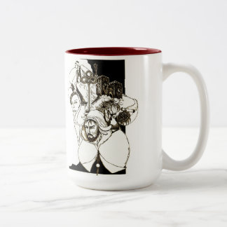 """The Sense Of A Quest"" Two-Tone Coffee Mug"