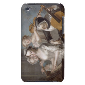 The Sense of Hearing, c.1744-7 (oil on canvas) Barely There iPod Cover