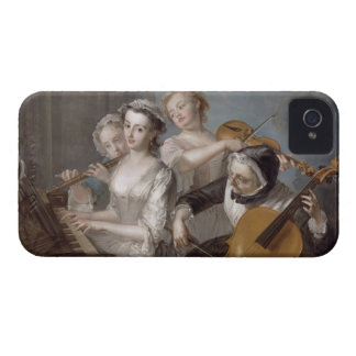 The Sense of Hearing, c.1744-7 (oil on canvas) iPhone 4 Case