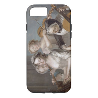 The Sense of Hearing, c.1744-7 (oil on canvas) iPhone 8/7 Case