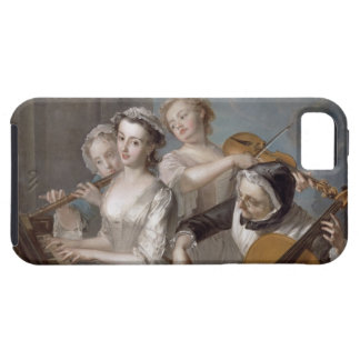 The Sense of Hearing, c.1744-7 (oil on canvas) iPhone SE/5/5s Case
