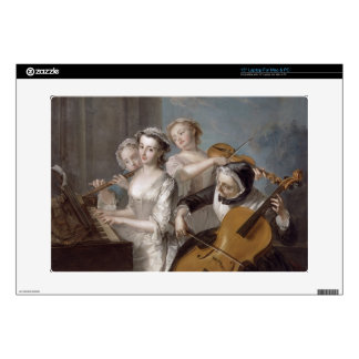 The Sense of Hearing, c.1744-7 (oil on canvas) Laptop Skin