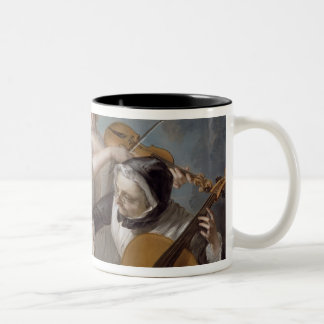 The Sense of Hearing, c.1744-7 (oil on canvas) Two-Tone Coffee Mug