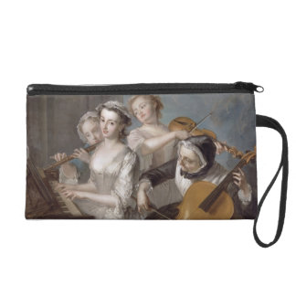 The Sense of Hearing, c.1744-7 (oil on canvas) Wristlet Purse