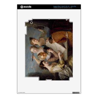 The Sense of Sight, c.1744-47 (oil on canvas) iPad 3 Decal