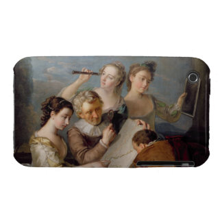 The Sense of Sight, c.1744-47 (oil on canvas) iPhone 3 Cases