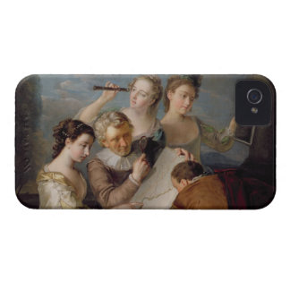 The Sense of Sight, c.1744-47 (oil on canvas) iPhone 4 Cases