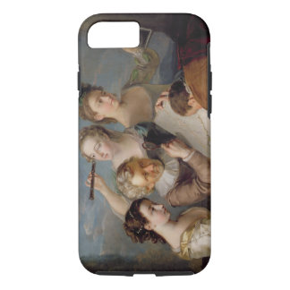 The Sense of Sight, c.1744-47 (oil on canvas) iPhone 8/7 Case
