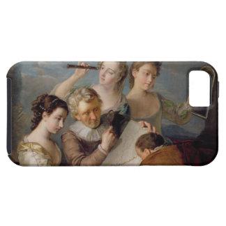 The Sense of Sight, c.1744-47 (oil on canvas) iPhone SE/5/5s Case