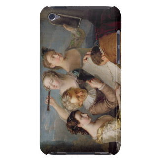 The Sense of Sight, c.1744-47 (oil on canvas) iPod Case-Mate Case