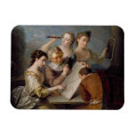The Sense of Sight, c.1744-47 (oil on canvas) Rectangular Photo Magnet