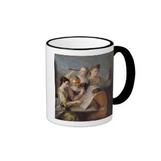 The Sense of Sight, c.1744-47 (oil on canvas) Ringer Mug
