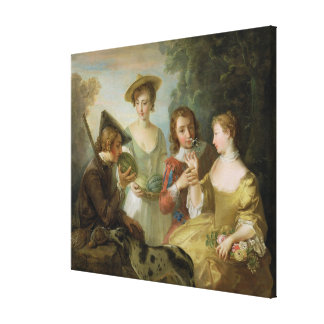 The Sense of Smell, c.1744-47 (oil on canvas) (see Canvas Print