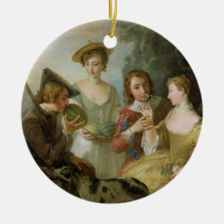 The Sense of Smell, c.1744-47 (oil on canvas) (see Ceramic Ornament