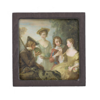 The Sense of Smell, c.1744-47 (oil on canvas) (see Gift Box