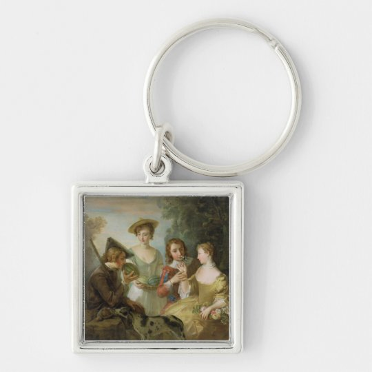 The Sense of Smell, c.1744-47 (oil on canvas) (see Keychain