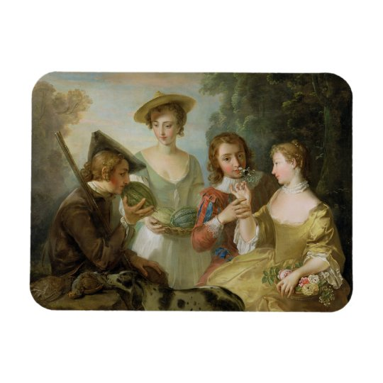 The Sense of Smell, c.1744-47 (oil on canvas) (see Magnet