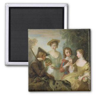 The Sense of Smell, c.1744-47 (oil on canvas) (see Fridge Magnet