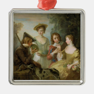 The Sense of Smell, c.1744-47 (oil on canvas) (see Metal Ornament