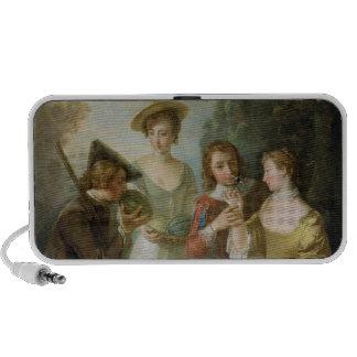 The Sense of Smell, c.1744-47 (oil on canvas) (see Mini Speaker
