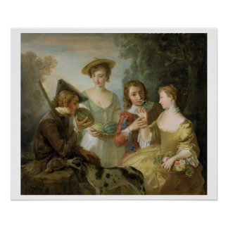 The Sense of Smell, c.1744-47 (oil on canvas) (see Poster