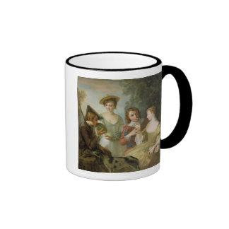 The Sense of Smell, c.1744-47 (oil on canvas) (see Ringer Mug