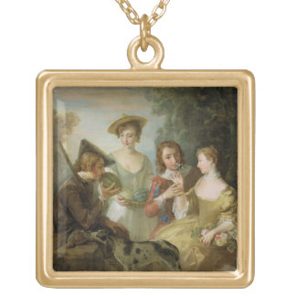 The Sense of Smell, c.1744-47 (oil on canvas) (see Square Pendant Necklace