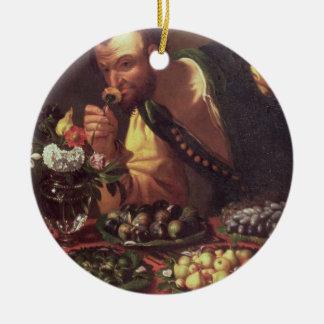 The Sense of Smell Ceramic Ornament