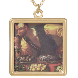 The Sense of Smell Gold Plated Necklace