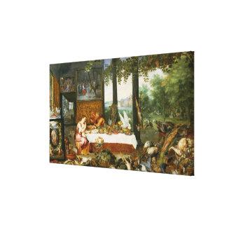 The Sense of Taste, 1618 Gallery Wrap Canvas