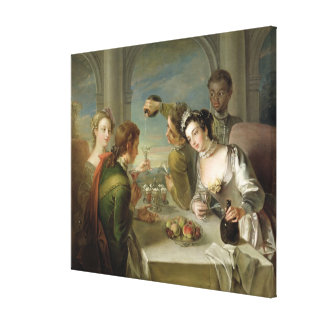 The Sense of Taste, c.1744-47 (oil on canvas) (see Canvas Print