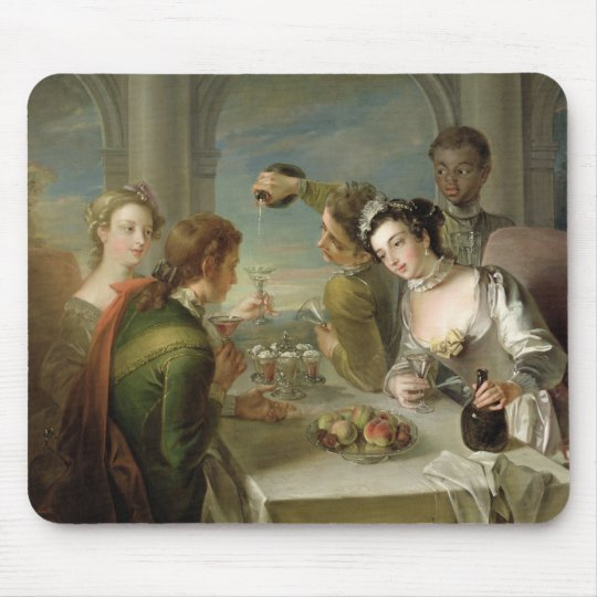 The Sense of Taste, c.1744-47 (oil on canvas) (see Mouse Pad