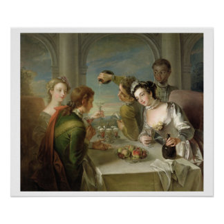 The Sense of Taste, c.1744-47 (oil on canvas) (see Poster