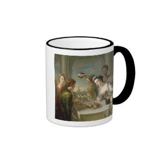 The Sense of Taste, c.1744-47 (oil on canvas) (see Ringer Mug