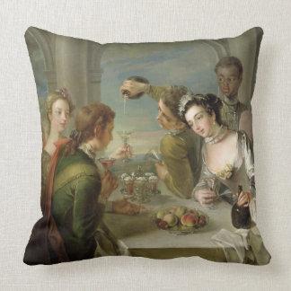 The Sense of Taste, c.1744-47 (oil on canvas) (see Throw Pillow