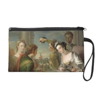 The Sense of Taste, c.1744-47 (oil on canvas) (see Wristlet Purse