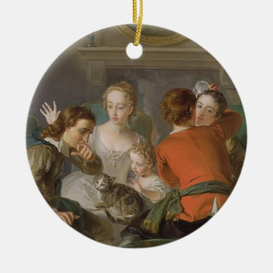 The Sense of Touch, c.1744-47 (oil on canvas) (see Ceramic Ornament
