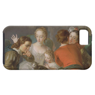 The Sense of Touch, c.1744-47 (oil on canvas) (see iPhone SE/5/5s Case