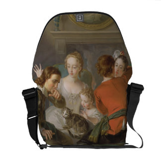 The Sense of Touch, c.1744-47 (oil on canvas) (see Messenger Bag
