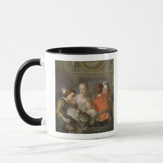 The Sense of Touch, c.1744-47 (oil on canvas) (see Mug