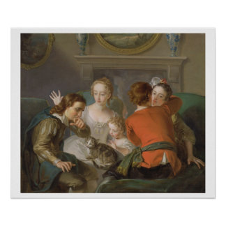 The Sense of Touch, c.1744-47 (oil on canvas) (see Poster