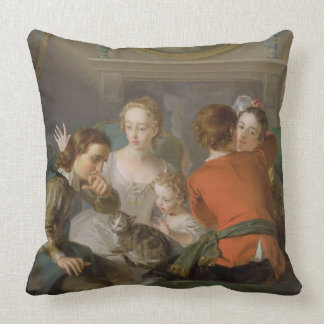 The Sense of Touch, c.1744-47 (oil on canvas) (see Throw Pillow